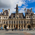 Hotel De Ville The Paris City Hall by Louise Heusinkveld
