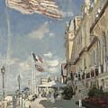 Hotel Des Roches Noires by Claude Monet