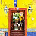 Hotel Estancia - Ajijic - Mexico by David Perry Lawrence