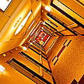 Hotel Hallway by Frozen in Time Fine Art Photography