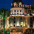 Hotel Negresco By Night by Inge Johnsson