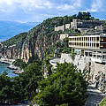 Hotel On Acronafplia by David Waldo