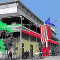 Hotel  Orndorff Colored American Flags Tucson Arizona Circa 1915-2012 by David Lee Guss