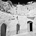 hotel room cave accomodation Sidi Driss Hotel underground at Matmata Tunisia scene of Star Wars films by Joe Fox
