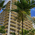 Hotel Waikiki Beach by Wayne Wood