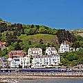 Hotels And Guesthouseson Great Orme Llandudno Wales Uk by Ken Biggs