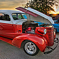Hotrod Sunset by Tim Stanley