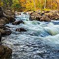 Housatonic River Autumn by Bill Wakeley