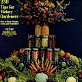 House And Garden Cover Featuring Fruit by Fredrich Baker