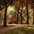 House And Trees by Roger Lundskow