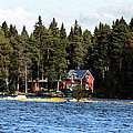 House By The Lake by Frederick Kjorling