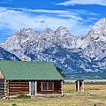 House By The Tetons by Carolyn Fox
