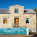 House In Akureyri Iceland by Matthias Hauser
