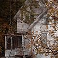 House In Fall by Margie Hurwich