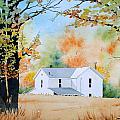 House In The Meadow by Jim Gerkin