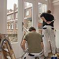 House Painters At Work by Patricia Hofmeester