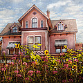 House - Victorian - Summer Cottage  by Mike Savad