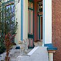 House With Griffin Lafayette Square St Louis by Greg Kluempers