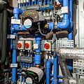 Household Heating Pumps by Arno Massee/science Photo Library