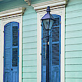 Houses Along A Street, French Quarter by Panoramic Images