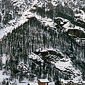 Houses In A Village In Winter, Tasch by Panoramic Images