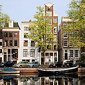 Houses In Amsterdam by Artur Bogacki