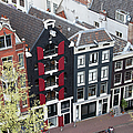 Houses In Amsterdam From Above by Artur Bogacki