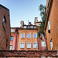 Houses In The Old Town Of Warsaw by Artur Bogacki