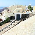 Houses Oia Santorini by Carole-Anne Fooks