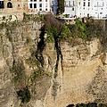 Houses On Rock In Ronda by Artur Bogacki