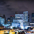 Houston City Lights by David Morefield