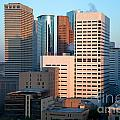 Houston Financial District by Bill Cobb