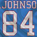Houston Oilers Billy Whiteshoes Johnson by Joe Hamilton