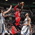 Houston Rockets V Memphis Grizzlies by Joe Murphy