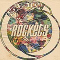 Houston Rockets Vintage Poster by Florian Rodarte