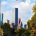 Houston The Bayou City by Jim Sanders