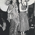 How Do You Like These Batik-clothes ? by Retro Images Archive