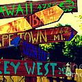 How Far Is It To Key West by Susanne Van Hulst