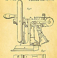 Howe Sewing Machine Patent Art 1846  by Ian Monk