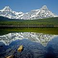 1m3643-howse Peak, Mt. Chephren Reflect by Ed  Cooper Photography