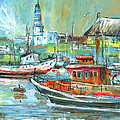 Howth Harbour 01 by Miki De Goodaboom