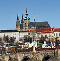 Hradcany - Prague Castle by Michal Boubin