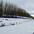 Hst In The Snow  by Rob Hawkins