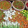 Hua Hin Market 03 by Antony McAulay