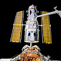 Hubble Space Telescope Redeployment  by Chad Rowe