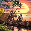 Huck Finn Variant 1 by Steve Crisp