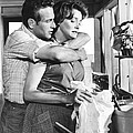 Hud, From Left, Paul Newman, Patricia by Everett