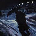 Huddling Through The Storm by John Malone