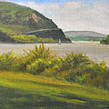Hudson River At Cold Spring by Phyllis Tarlow