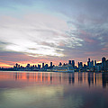 Hudson River Sunrise Nyc by Bill Cannon